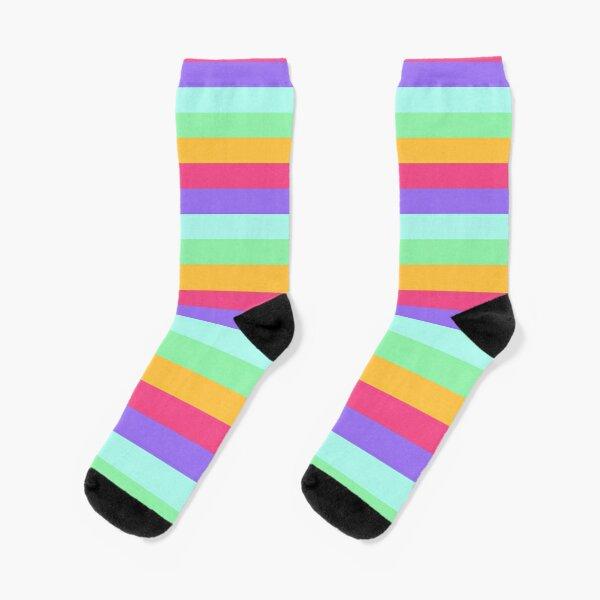 Unicorn Stripes Socks