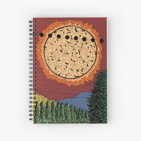 Venus in Transit Spiral Notebook