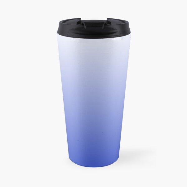 Vishuddha Chakra Blue Ombré  Travel Mug