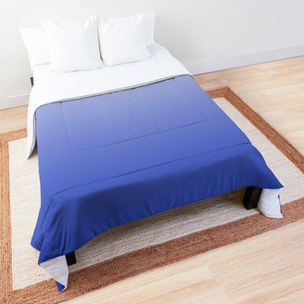 Vishuddha Chakra Blue Ombré  Comforter