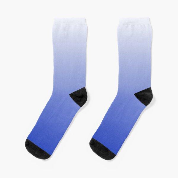 Vishuddha Chakra Blue Ombré  Socks