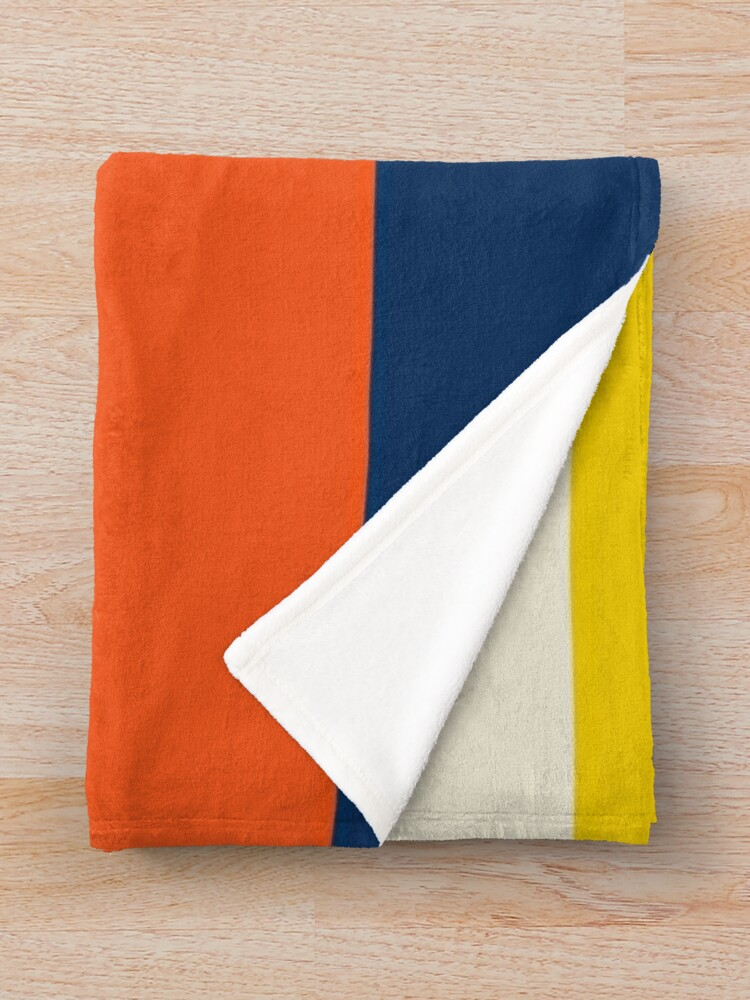Alternate view of Summer at the Lake Throw Blanket