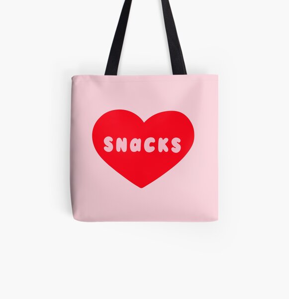 Love Snacks  All Over Print Tote Bag