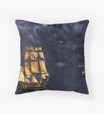 Lighthouse on the Lake. Throw Pillow