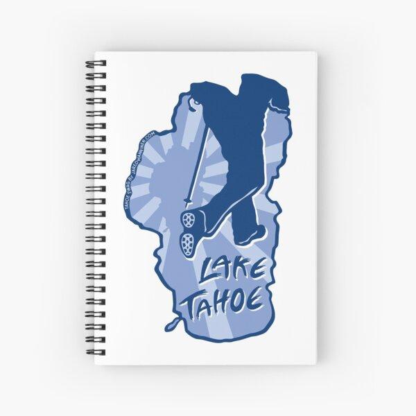 Hike Lake Tahoe Spiral Notebook