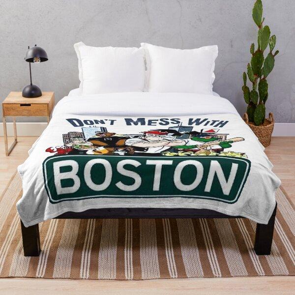 Don't Mess With Boston  Throw Blanket