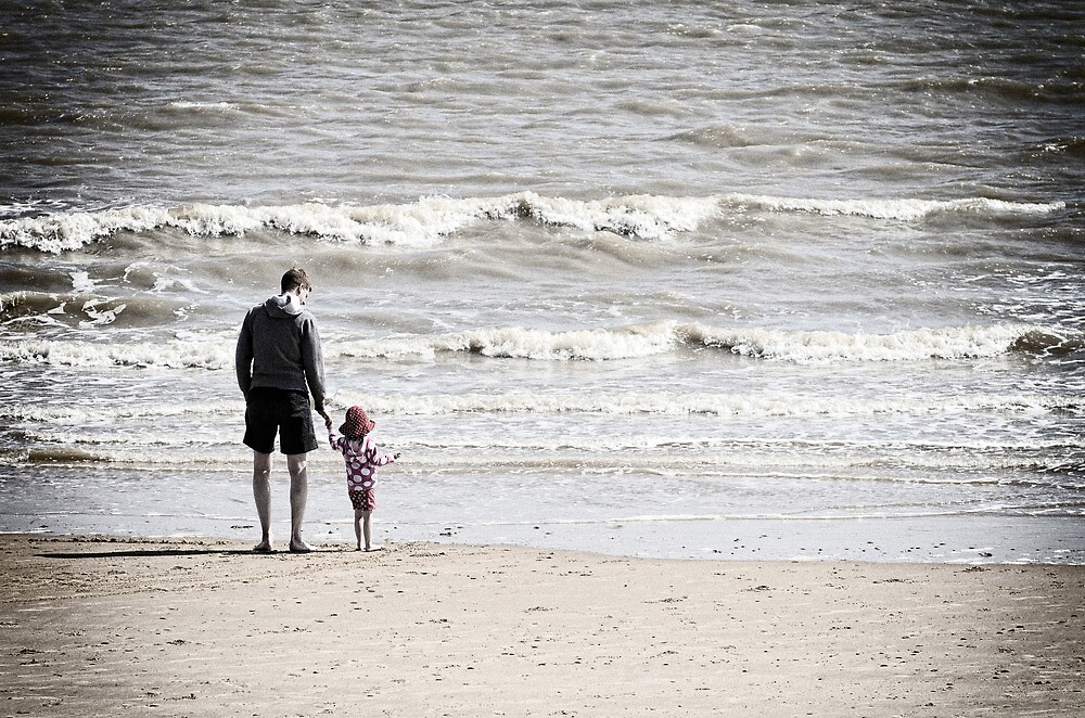 Dad and Daughter by Philip Cozzolino