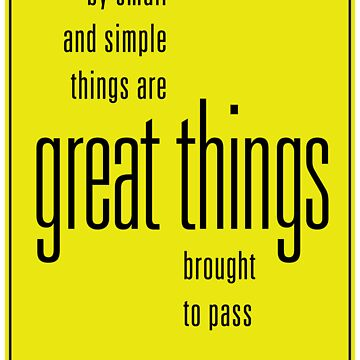 Great Things by ryanlefty