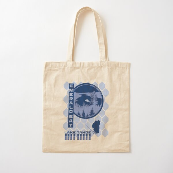 Emerald Bay (Through the Looking Glass) Cotton Tote Bag