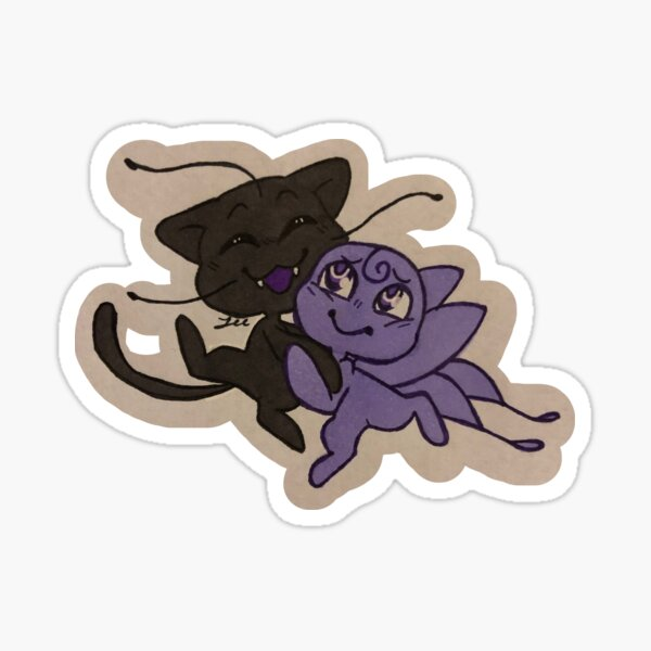 Plagg and Nooroo Sticker