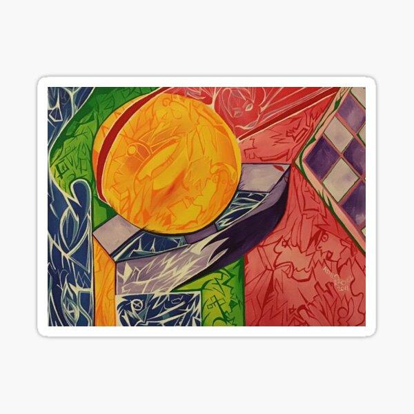 Sinking Sun Sticker