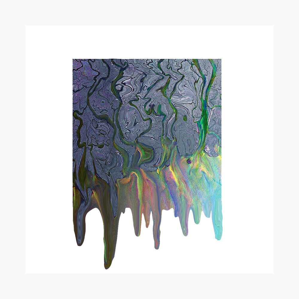 Dripping Alt J An Awesome Wave Album Cover Metal Print By
