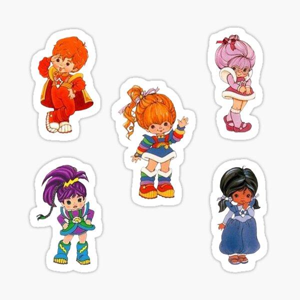 Rainbow Brite Set Sticker