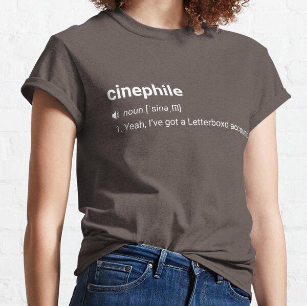 Cinéphile T-shirt classique