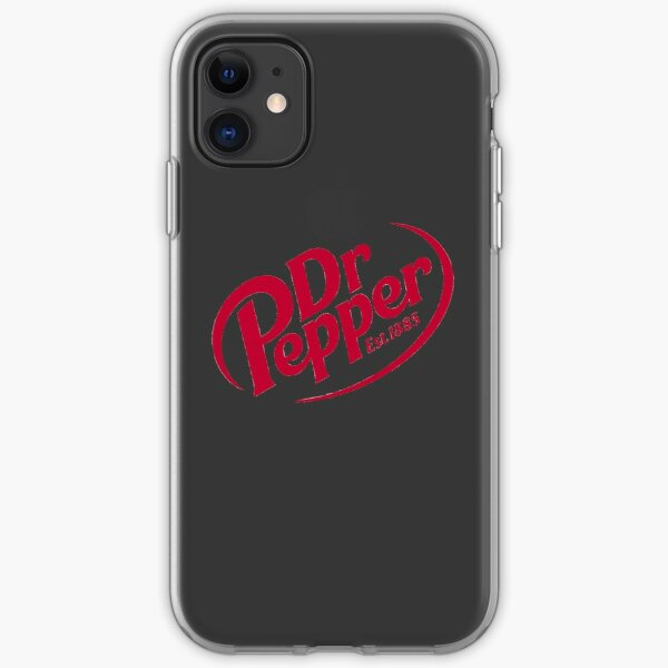 Dr Pepper Red Logo iPhone Soft Case