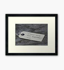 Elephant art! Framed Print