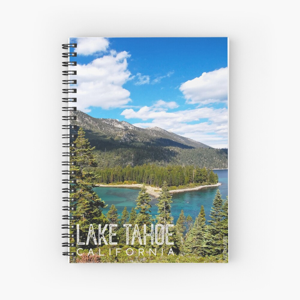 View of Emerald Point Spiral Notebook