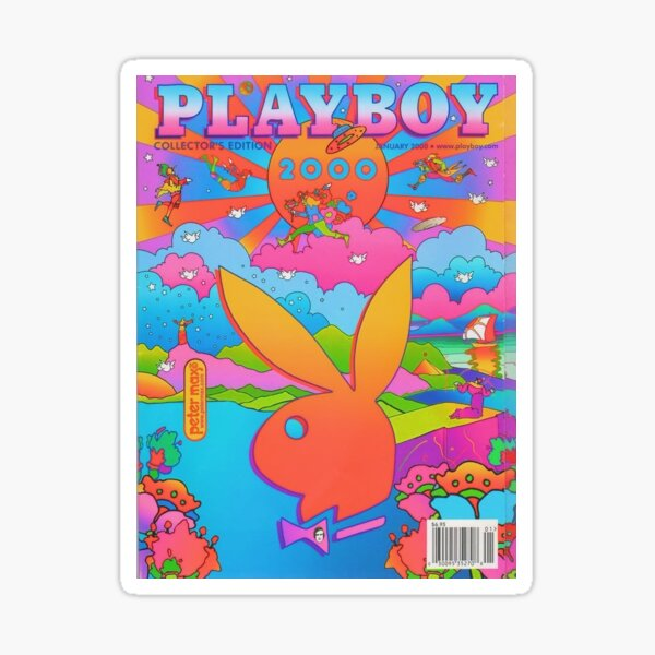 playboy print Sticker