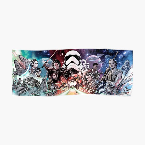 Star Heroes wars knights Poster