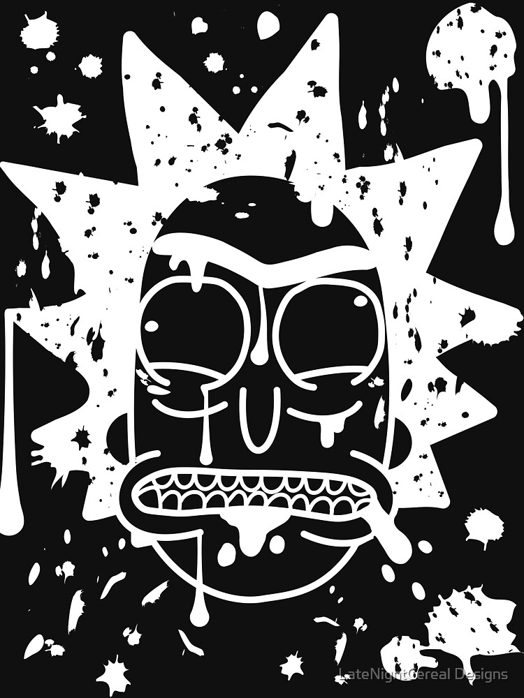 Dripping spit Rick Sanchez White by cook13c