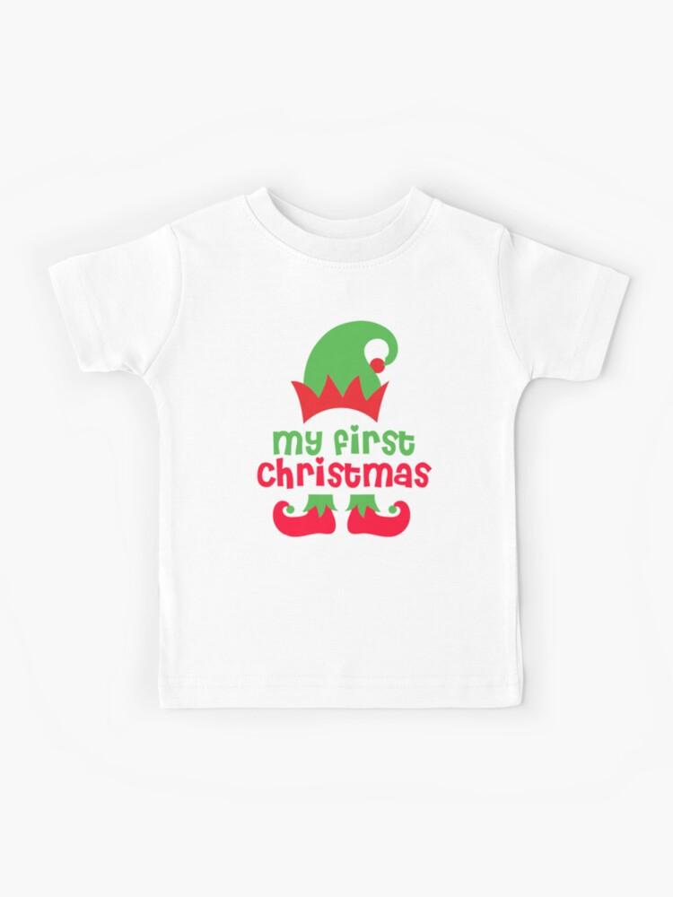 Christmas Babygrow// vest,Baby Boy or Girl unisex ELF