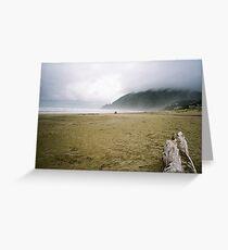 Manzanita Beach Greeting Card