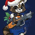 Stocking Stuffer: Raccoon by dooomcat