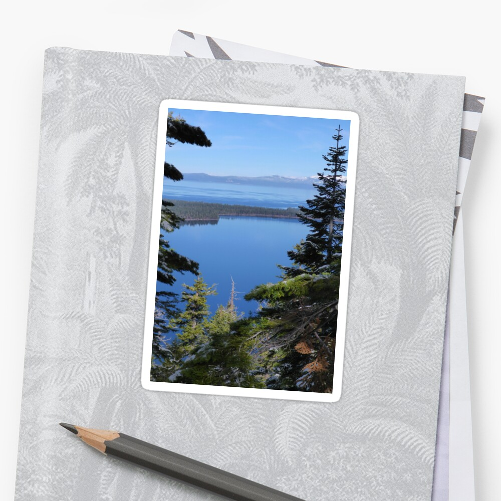 Fallen Leaf Lake and Lake Tahoe Sticker