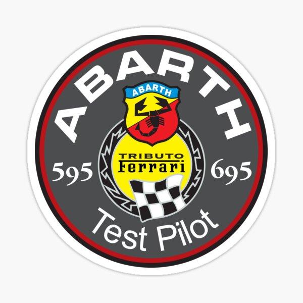 Abarth 595 695 Test Pilote Sticker