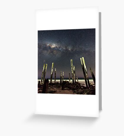 Port Willunga Stars Greeting Card
