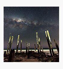 Port Willunga Stars Photographic Print