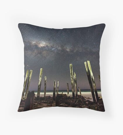 Port Willunga Stars Throw Pillow