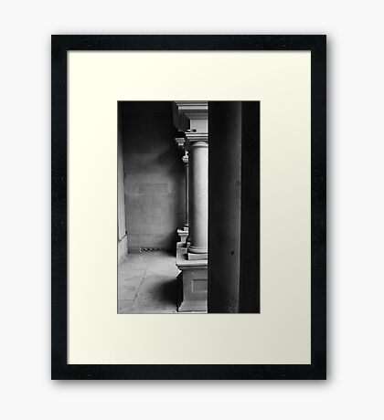 Ancient Support Framed Print