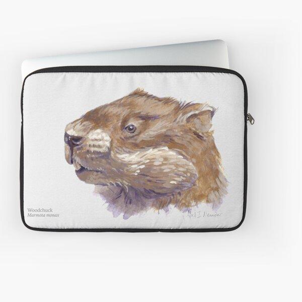 Portrait of a Woodchuck Laptop Sleeve