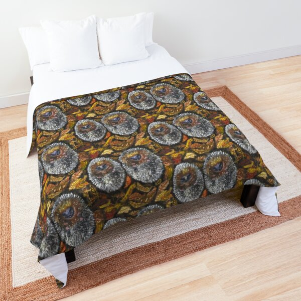 Sleepy Hedgehogs Comforter