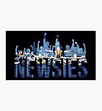 Newsies - Fäuste Fotodruck