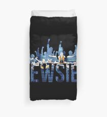 Newsies - Fists Duvet Cover