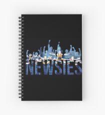 Cuaderno de espiral Newsies - Puños