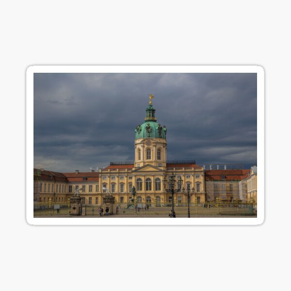 Deutschland. Berlin. Schloss Charlottenburg. Sticker