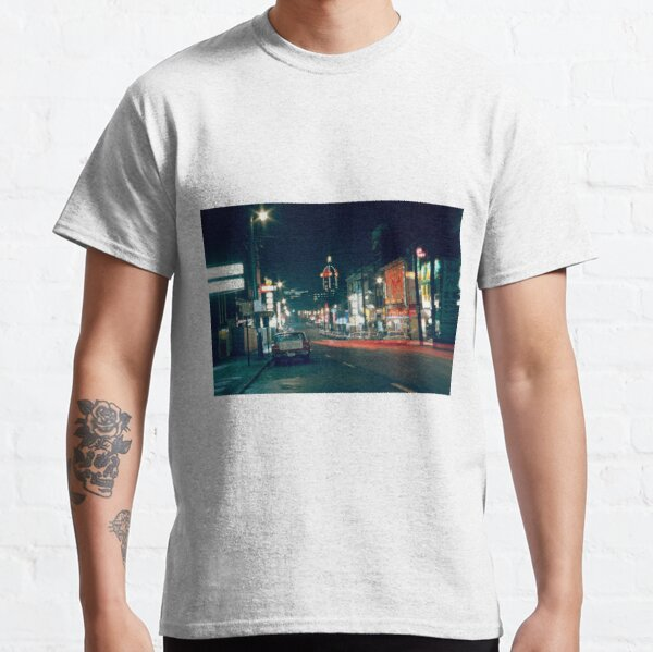 View of East Pender Street at night (c. 1970s) Classic T-Shirt