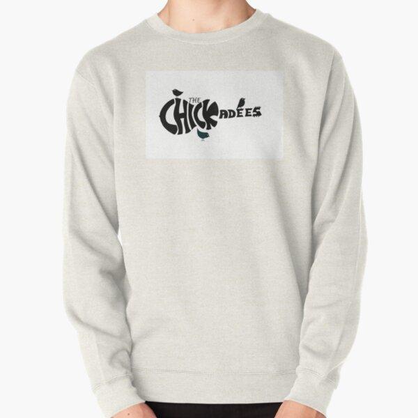 Chickadees logo (Black) Pullover Sweatshirt