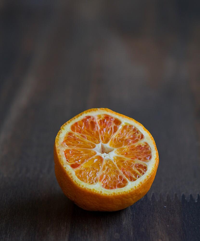 Orange Half by Winnie Abramson