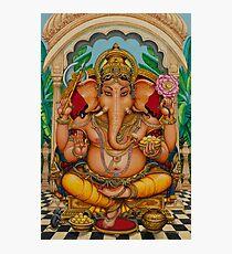 Ganapati darshan Photographic Print