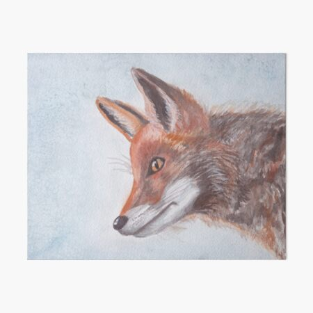 Foxy One Art Board Print