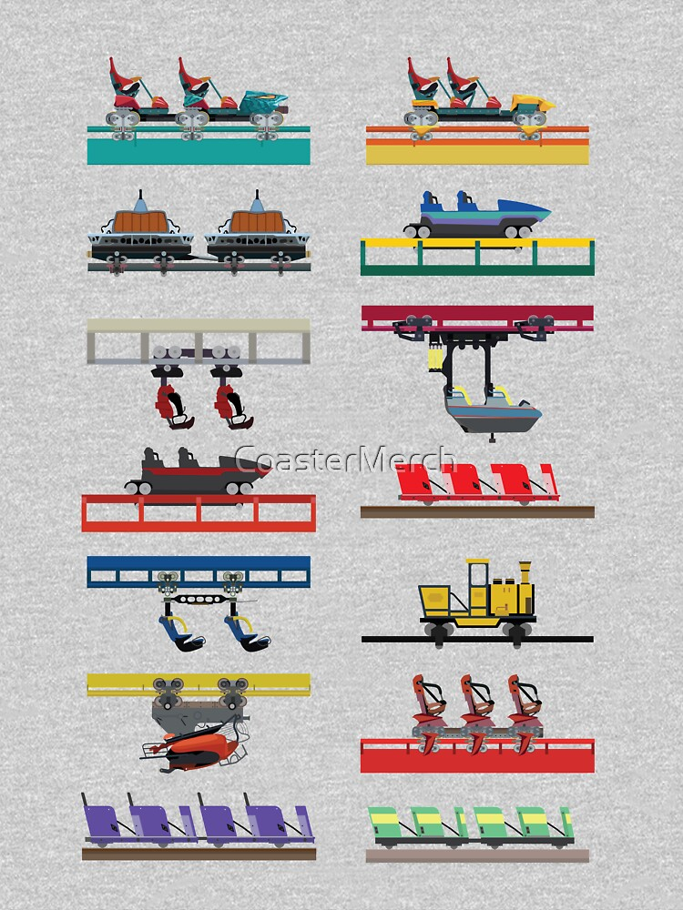 Canada's Wonderland Coaster Cars Design by CoasterMerch
