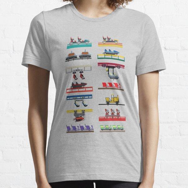 Canada's Wonderland Coaster Cars Design Essential T-Shirt