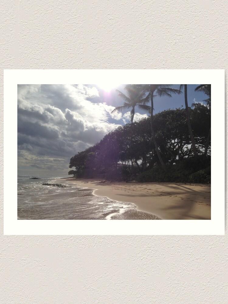 Alternate view of Beach Art Print