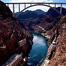 Bridge @ the Hoover Dam by Melanie Dogan