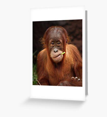 Malu Greeting Card