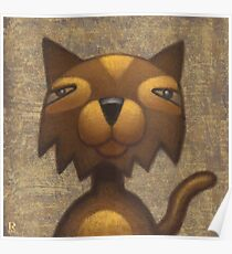 Mister Cool Cat Poster
